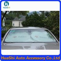 Polyester car sun shades car sun shade rolling sunshade window film korea nano