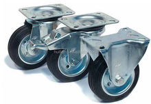 HLX manufacture Wheel and tread caster / high load capacity / polyurethane-coated