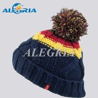 Fashion winter hat for young girls custom beanie