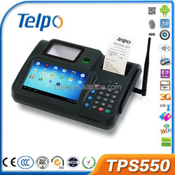 TPS550 All in One Touch Screen POS Terminal with Keyboard Printer