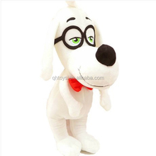 2014 new product dog with glasses plush toy wholesale