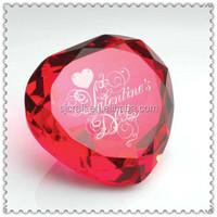 Red Crystal Heart Diamond For Wedding Door Gifts SJ-ZS709