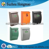 wall mount plastic mailboxes with more colors