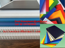 Polypropylene corrugated plastic honeycomb cardboard sheets