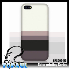 colorful Printing PC hard Cell Phone housing cover Case for iPhone5s/5c