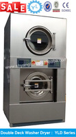 CE quality laundry used commercial laundry washing machines made of full stainless steel 304