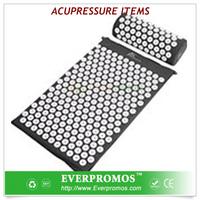 Organic Cotton Massage Mat with spikes / Eco Foam Inside