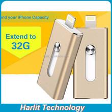 iFlash Device OTG Flash Drive Disk USB for iPhone iPad Air iPod External USB Flash Drive