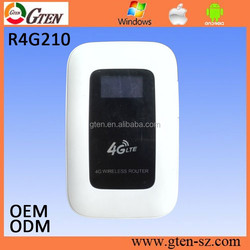 R4G210 150Mbps 4G router/4G lte wireless router/4G router with sim card slot wifi sharing