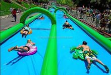 2015 hot cartoon giant 1000 ft slip n slide inflatable slide the city