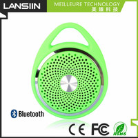 Rechargeble music mp3 player with bluetooth capability waterproof speakers