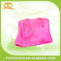 ladies handbag manufacturers pvc plastic clear bone glue women bag