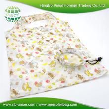 Heavy capacity 210D shopping Foldable nylon bag