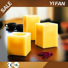 New product Multi Function 2014 real wax led candle