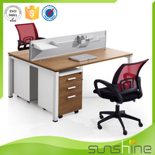 Pictures Of Wooden Computer Table Widely Used Office Workstation Furniture With 30mm Aluminium Panel Office Partition