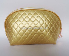 promotional fashion elegant quilting Make Up beauty case Modella toiletry cosmetic bag for lady