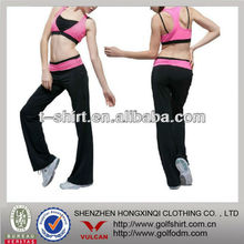 fashion polyester spandex fitness women Yoga clothing wear suits