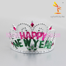 Promotional Plastic Happy New Year Christmas Tiaras