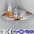 popular ranura soporte de estante de alta calidad 304 de acero inoxidable de cuarto de baño estante de la esquina
