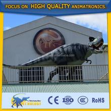 Amusement Park Mechanical Life-size Simulation Dinosaur 3D Display