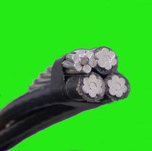 duplex / triplex XLPE cable conductor de aluminio con aislamiento