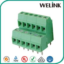High quality cheap custom pitch 3.5mm 2-pole terminal blocks