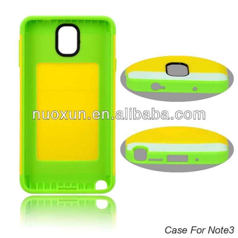 Nouveau produit personnalisé mobile couverture de téléphone pour Samsung Note 3