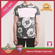 2015 Latest sublimation custom made t-shirts full body print t-shirts China supplier