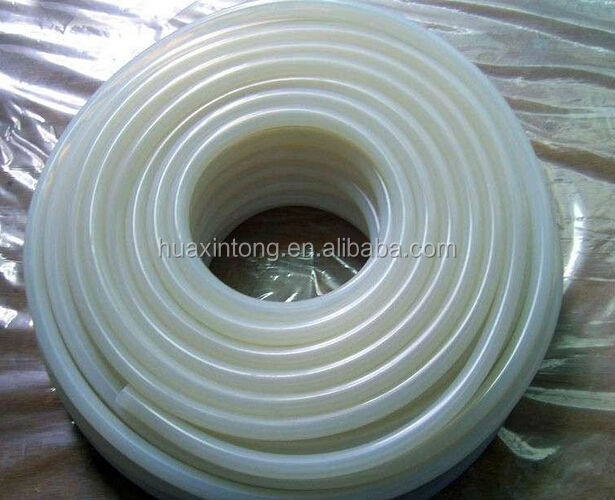 ECO-friendly Flexible Pure Extruded Silicone Rubber Sleeve