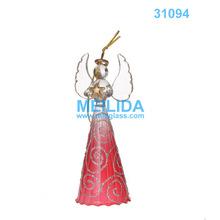 Spun Glass angel figurine