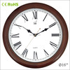 16 inch home wood watch 40cm wall clock(16W05BR-187)