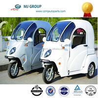 48v 800W New Closed Green energy three wheel motorcycle electric vehicles for passenger for old