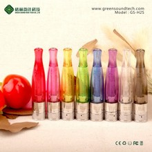 New arrival ego atomizer dual heating clearomizer gs h2s ecig ego clearomizer