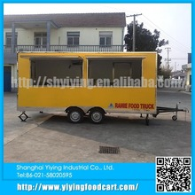 YY-FS480 wholesale china outdoor mobile food cart restaurant for sale