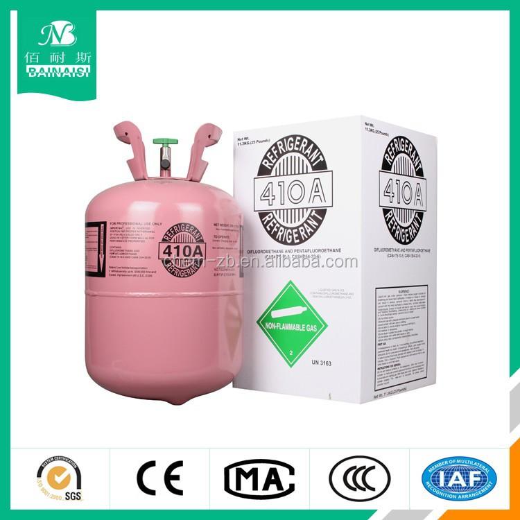 R410a refrigerant gas, HFC-R410a gas, CE,DOT