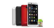 "Cubot Uno de los teléfonos móviles inteligentes MTK6589 Quad Core 1.2GHz 1G 8G 4.7 ""1280x720 Pantalla táctil Dual SIM Cámara 13M"