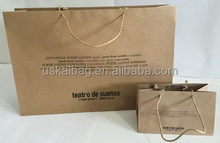 brown/white kraft paper bag
