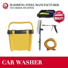 PORTABLE CAR WASHER 12V WITH TYRE GAS CHARGING FUNCTION