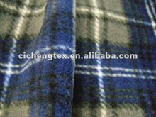 100% polyester two side brushed one side anti pilling printed polar fleece fabric