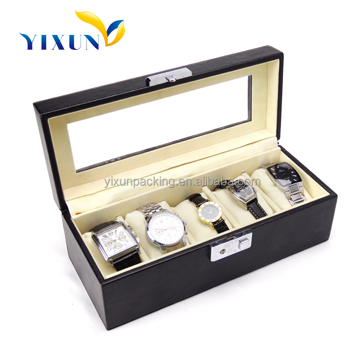 Factory Wholesale High Quality Luxury Stealth Silent: Promotional Luxury Plastic Box For Watch Wholesale