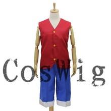 One Piece Costume Luffy Anime cosplay Costume uniforms Halloween Costume