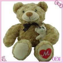 Custom stuffed plush soft toy teddy bear bouquet