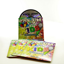 Colorful DVD wallet with DVD printing