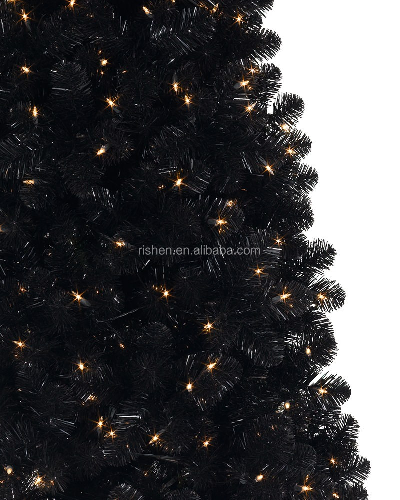 black artificial xmas tree 3jpg - Black Artificial Christmas Tree