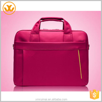Cheap chinese red lady tote computer bag customized laptop bag
