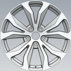 Silver Five Holes Best Quality Car Alloy Wheel Rims F10338