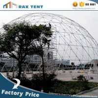 Top quality geodesic dome house tent
