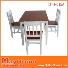 Brand new 48 inch solid wood dining table and chair