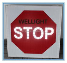 monocrystalline silicon or Polysilicon LED road Traffic STOP Signal or road traffic STOP signs