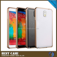 ultra thin aluminum bumper case for samsung galaxy note 3, hippocampal buckle